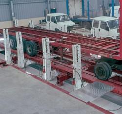Power Cage - Стапель для правки рам грузовиков, полуприцепов, кузовов автобусов art. HD 490 B4