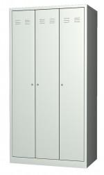 Шкафы гардеробные трехсекционные WR-33